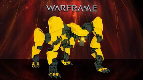 Warframe lego jackal wallpaper 1366x768 by shaddy sw-d773sl2