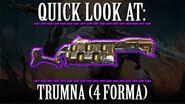Warframe - Quick Look At Trumna (4 Forma)