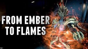 Warframe FIRE GODDESS EMBER REVITALIZE FLAMES