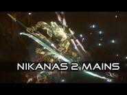Les Nikanas à deux mains (Catégorie d'arme Mêlée) - Warframe -FR-