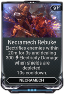 Necramech Rebuke