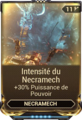 Intensité du Necramech