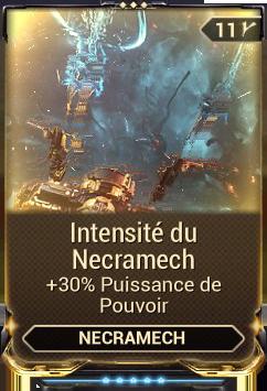 Intensité du Necramech