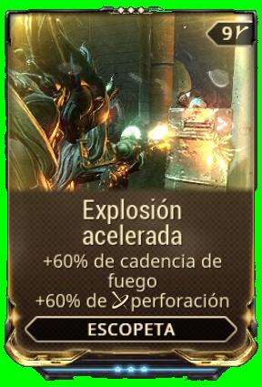 Explosión acelerada