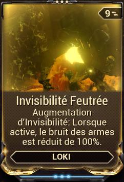 Invisibilité Feutrée
