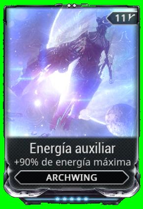 Energía auxiliar