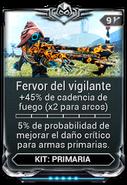 Fervor del vigilante