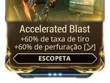 Accelerated Blast