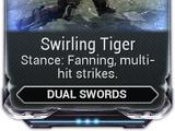 Swirling Tiger