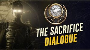 The Sacrifice Cutscenes & Dialogue! Sun Light (The Warframe Story)