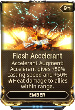 Flash Accelerant