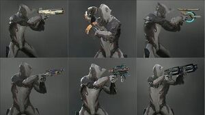 Warframe - All Corpus Secondaries - Weapon Animations & Sounds (2013 - 2019)