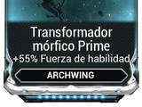 Transformador mórfico Prime