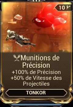 Munitions de Précision
