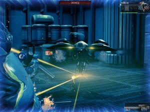 Fusion drone fire