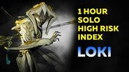 Warframe 1 Hour Solo High Risk Index Loki (John Prodman) 2020