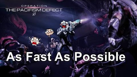 Operation: The Pacifism Defect