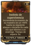 Instinto de supervivencia