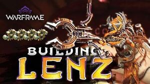Warframe - Lenz 4 forma build - Explosive Damage Build