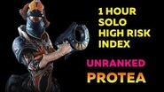 Warframe 1 Hour Solo High Risk Index with UNRANKED Protea (John Prodman) 2020