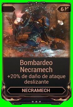 Bombardeo Necramech