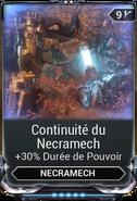Continuité du Necramech