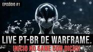 WARFRAME PTBr Iniciando no game. 720p 60fps.