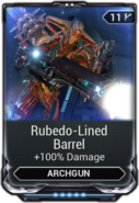 Rubedo-Lined Barrel