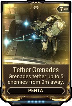 Tether Grenades