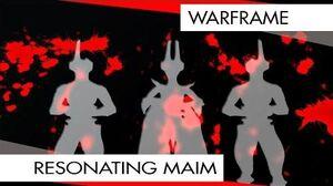 Warframe Equinox Resonating Maim OH THE POWER! (50 Wave T4 DEF)