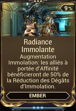 Radiance Immolante