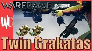 TWIN GRAKATAS BUILD (Rata-tat-tat) - Warframe 2 forma - Update 17