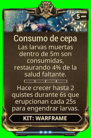 Consumo de cepa
