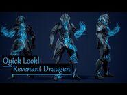 Quick Look at Revenant Draugen - Warframe