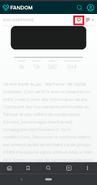 Fandom smartphone -Icône Discuter
