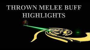 WARFRAME - Thrown Melee Buff Highlights Orvius Charged Throw Navigator
