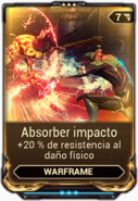 Absorber impacto