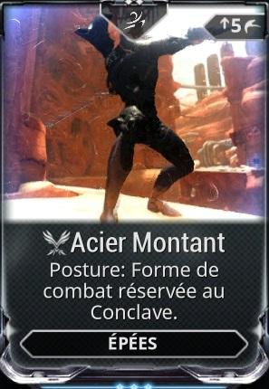 Acier Montant