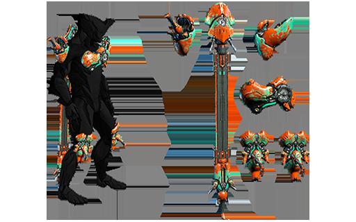 Conjunto de armadura Harkonar