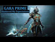 Gara Prime Looks Incredible!!! - Warframe