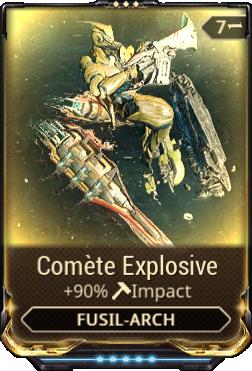 Comète Explosive