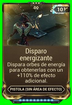 Disparo energizante