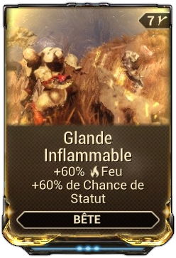 Glande Inflammable