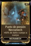 Punto de presión Necramech