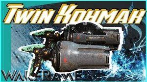 TWIN KOHMAK - Auto Shotgun Pistols 4 forma - Warframe