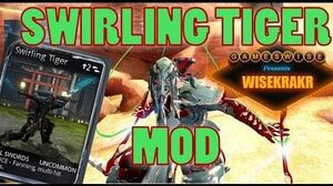 GamesWise SWIRLING TIGER MOD Dual Swords Melee 2