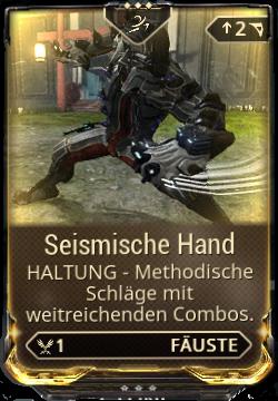 Seismische Hand