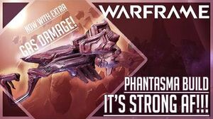 """2nd BEST SHOTGUN"" Phantasma Build Guide Warframe"