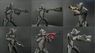 Warframe - All Grineer Primaries - Weapon Animations & Sounds (2012 - 2019)