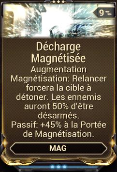 Décharge Magnétisée